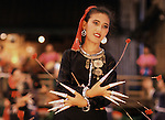 Dancers perform traditional dances in Bangkok, Thailand. (Jim Bryant Photo)....