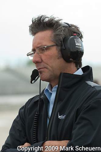 May 30 2009: Indianapolis Motor Speedway President and Vision Racing team co-owner Tony George at the ABC Supply Company A.J. Foyt 225 at the Milwaukee Mile in West Alis, WI.