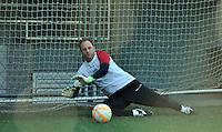 SÃO PAULO.SP. 20.04.2015 - SPFC TREINO - Rogerio Ceni goleiro do São Paulo durante o treinamento do São Paulo no CT da Barra Funda zona oeste nesta segunda feira 20. ( Foto: Bruno Ulivieri / Brazil Photo Press )