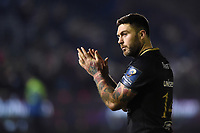 Matt Banahan of Bath Rugby acknowledges the crowd after the match. European Rugby Champions Cup match, between Bath Rugby and the Scarlets on January 12, 2018 at the Recreation Ground in Bath, England. Photo by: Patrick Khachfe / Onside Images