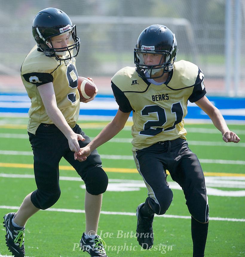 North Langley Bears vs Meadowridge Gold JR Bantam  Golden Helmet Tournament