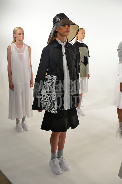 Nova Iorque, EUA &sbquo;09/2014 - Desfile de Koonhor durante a Semana de moda de Nova Iorque  -  Verao 2015. <br /> <br /> Foto: FOTOSITE