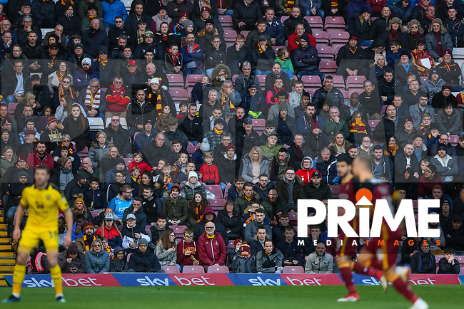 during the Sky Bet League 1 match between Bradford City and Oxford United at the Northern Commercial Stadium, Bradford, England on 24 November 2018. Photo by Thomas Gadd.