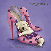 Marcello, REALISTIC ANIMALS, REALISTISCHE TIERE, ANIMALES REALISTICOS, paintings+++++,ITMCEDW1018,#A# ,dogs,puppies