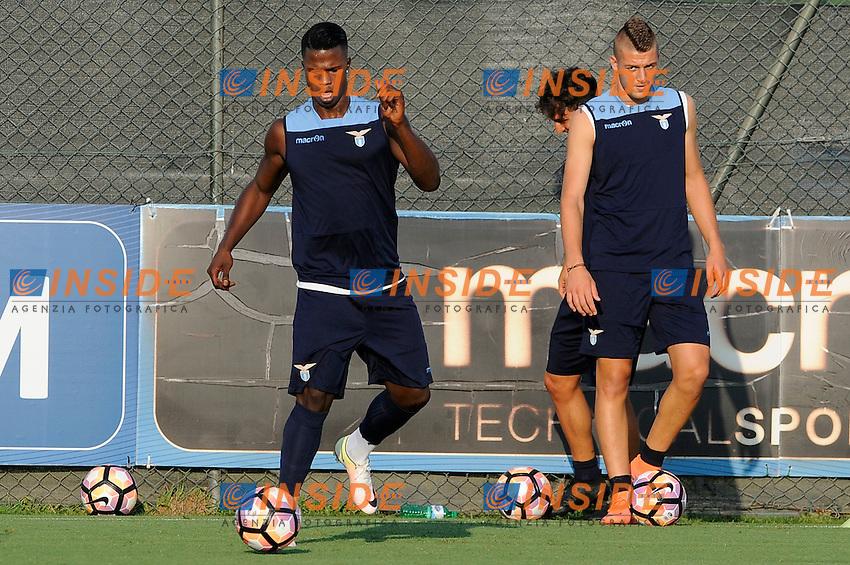 Balde Diao Keita<br /> 26-07-2016 Roma<br /> Allenamento Lazio a Formello<br /> SS Lazio traning day<br /> @ Marco Rosi / Fotonotizia / Insidefoto