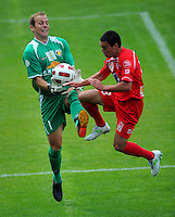 110122 ASB Premiership Football - Team Wellington v Waitakere United