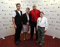 Pictured: Little boy Llewelyn. Wednesday 10 April 2013<br /> Re: Swansea footballer Angel Rangel and wife Nicky's cancer charity fundraising dinner at the Liberty Stadium.