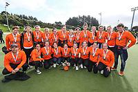 Midlands women.  National Hockey League Finals Day action, National Hockey Stadium, Wellington, New Zealand. Sunday 23 September 2018. Photo: Simon Watts/www.bwmedia.co.nz/Hockey NZ
