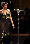 Adriane Lenox  during the Curtain Call for Encores! 'Cotton Club Parade' at City Center in New York City on 11/17/2012