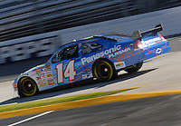 Mar 30, 2007; Martinsville, VA, USA; Nascar Nextel Cup Series driver Sterling Marlin (14) during practice for the Goody's Cool Orange 500 at Martinsville Speedway. Martinsville marks the second race for the new car of tomorrow. Mandatory Credit: Mark J. Rebilas