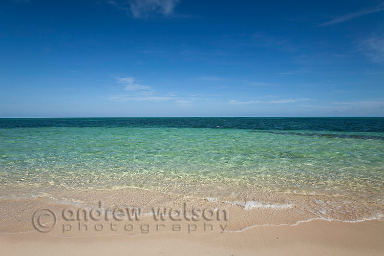 Green Island - a coral cay off the coast of Cairns.  Great Barrier Reef, Queensland, Australia