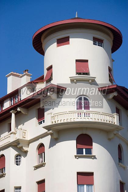 Europe/France/Aquitaine/64/Pyrénées-Atlantiques/Biarritz:Immeuble Art-Déco