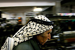 Owned by 75 years old Yasser Herbawi and his family, the only factory of the Palestinian national symbol - the Keffiyeh - is struggling against the Chinise market, in the West Bank city of Hebron. Photo by Quique Kierszenbaum