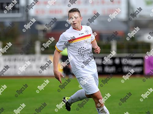 2012-10-14 / Voetbal / Seizoen 2012-2013 / KFC Duffel / Sebastiaan Van Reeth..Foto: Mpics.be