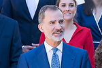 King Felipe VI of Spain in audience with <br /> XXIV Promotion of the superior body of architects of the Public State. September 26, 2019.. (ALTERPHOTOS/ Francis Gonzalez)