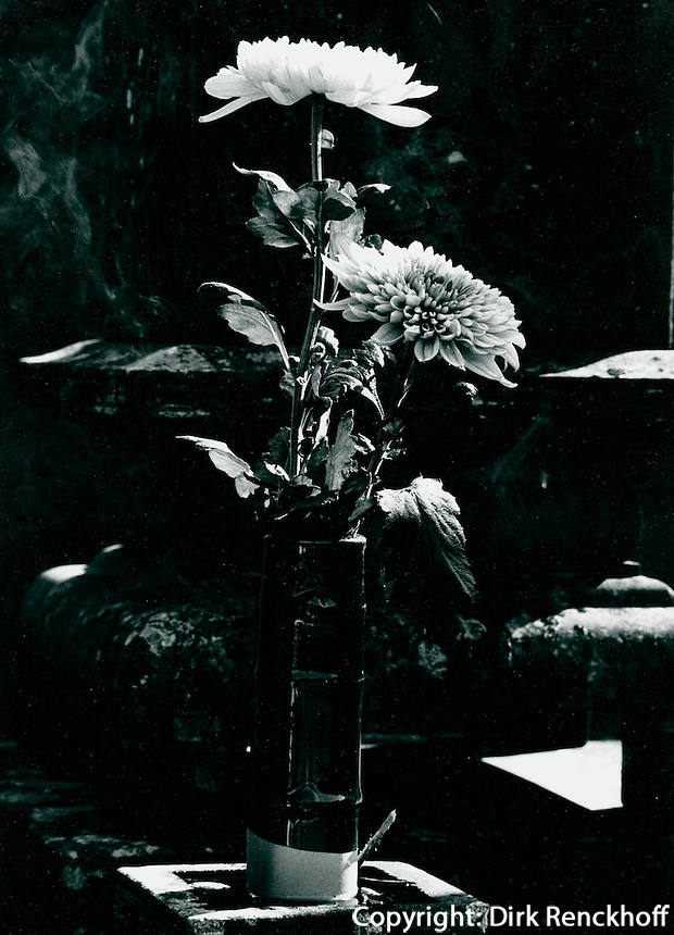 Friedhof in Karatsu, Japan