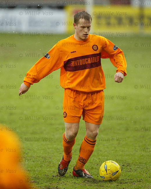 Steven Hammell, Motherwell.stock season 2003-04.pic willie vass