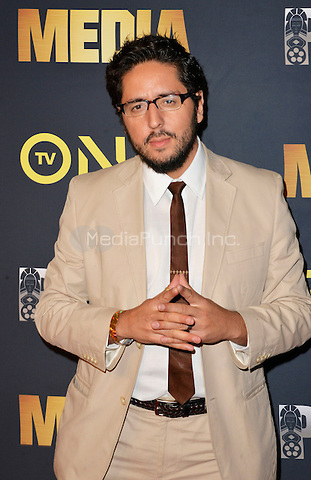 "LOS ANGELES, CA- FEBRUARY 15: Adrian Manzano  at the ""Media"" Movie Premiere at the Pan African Film Festival at Cinemark Baldwin Hills in Los Angeles, California on February15, 2017. Credit: Koi Sojer/Snap'N U Photos/MediaPunch"