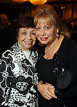 Vera Blum and Bernice Blum Miller at the Holocaust Houston's Museum Guardian of the Human Spirit Award luncheon at the Hilton Americas Hotel Thursday Nov. 03,2011.(Dave Rossman/For the Chronicle)
