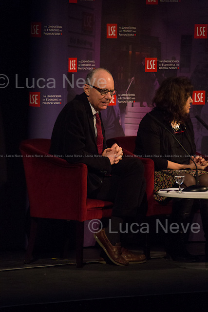 (From L to R) Anatole Kaletsky &amp; Mary Kaldor.<br />