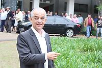 CAMPINAS, SP, 17.10.2018: ELEIÇÕES-2018 - O candidato e atual governador de São Paulo, Márcio França (PSB), realiza visita ao IAC (Instituto Agronomico de Campinas) na manhã desta quarta-feira (17). (Foto: Luciano Claudino/Código19)