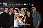 "Kevin Spirtas, Gerald McCullouch, Daphne Rubin-Vega, Sebastian La Cause star in the third and final season of ""Hustling"" and attend the screening on December 16, at the Tribeca Cinemas, New York City, New York. The evening had a red carpet, cocktails and the screening. (Photo by Sue Coflin/Max Photos)"