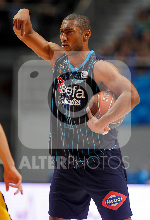 Asefa Estudiantes' Jayson Granger during Liga Endesa ACB match.April 15,2012. (ALTERPHOTOS/Acero)