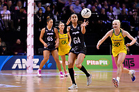 Silver Ferns&rsquo; Maia Wilson in action during the International Netball Constellation Cup - NZ Silver Fans v Australia Diamonds at TSB Bank Arena, Wellington, New Zealand on Thursday 18 October  2018. <br /> Photo by Masanori Udagawa. <br /> www.photowellington.photoshelter.com