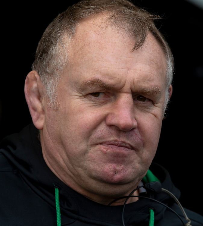 Newcastle Falcons' Head Coach Dean Richards<br /> <br /> Photographer Bob Bradford/CameraSport<br /> <br /> Gallagher Premiership - Exeter Chiefs v Newcastle Falcons - Saturday 23rd February 2019 - Sandy Park - Exeter<br /> <br /> World Copyright © 2019 CameraSport. All rights reserved. 43 Linden Ave. Countesthorpe. Leicester. England. LE8 5PG - Tel: +44 (0) 116 277 4147 - admin@camerasport.com - www.camerasport.com