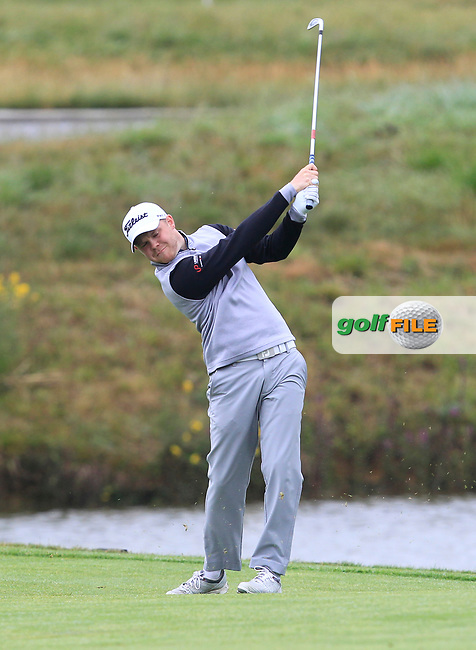 Nathan Kimsey (ENG) on the 1st fairway during Round 4 of the HNA Open De France  at The Golf National on Saturday 2nd July 2017.<br /> Photo: Golffile / Thos Caffrey.<br /> <br /> All photo usage must carry mandatory copyright credit       (&copy; Golffile | Thos Caffrey)