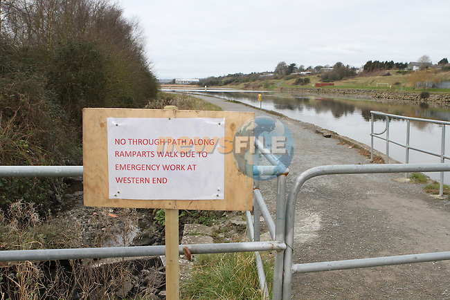 Ramparts Subsiding.....(Photo credit should read Jenny Matthews/NEWSFILE)...