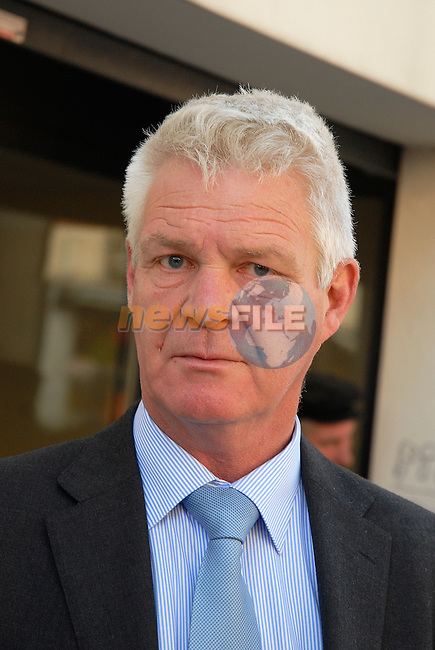 Louth County Coroner Ronan Maguire..at drogheda Court for the inquest into the death of Simon McDonagh. Where Mr Alan Floyd alleged that the members of the coast guard done nothing to help the casualty, and disagreed with the HSE paramedic on his timings..Picture www.newsfile.ie
