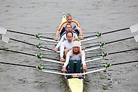Crew: 140  Bewl Bridge/Tideway Scullers School  MxE 4x<br /> <br /> Vet Fours Head 2019