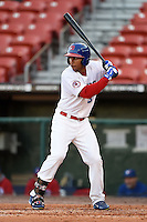 Buffalo Bisons outfielder Anthony Gose (8) during a game against the Louisville Bats on April 29, 2014 at Coca-Cola Field in Buffalo, New  York.  Buffalo defeated Louisville 4-1.  (Mike Janes/Four Seam Images)
