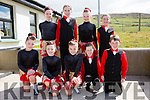 The Kilcummin Figure Dancers at the County Finals of Scór na bPáistí in Foilmore on Sunday front l-r; Alison Pigott, Caoimhe O'Halloran, Doireann Dwyer, Meabh O'Connor, Michael Healy, back l-r; Eimer O'Sullivan, Kaytlyn Doolan, Rachel Fleming & Sarah Pigott.