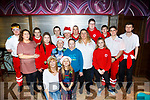 Red Cross volunteers who helped at the Annual Red Cross senior citizens dinner party in the Grand Hotel, Tralee on Sunday last.