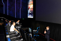 LOS ANGELES - DEC 8: Robert Laity at TCL Chinese Theatre introduces a MX4D ® Motion EFX movie theatre, as well as the first immersive spectator theater, hosting competitive esports tournaments at the TCL Chinese Theatre on December 8, 2017 in Los Angeles, California