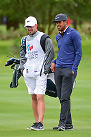 Tony Finau (USA) looks over his second shot on 2 during round 3 of the Valero Texas Open, AT&amp;T Oaks Course, TPC San Antonio, San Antonio, Texas, USA. 4/22/2017.<br /> Picture: Golffile | Ken Murray<br /> <br /> <br /> All photo usage must carry mandatory copyright credit (&copy; Golffile | Ken Murray)