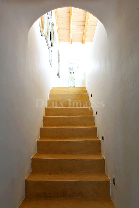 cycladic staircase