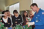 Students are also treated to the kind of plant training that takes place at the LyondellBasell Training Center where the personal financial planning seminar took place.