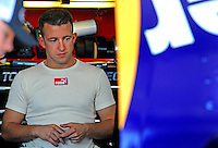 Apr 17, 2009; Avondale, AZ, USA; NASCAR Sprint Cup Series driver A.J. Allmendinger during practice for the Subway Fresh Fit 500 at Phoenix International Raceway. Mandatory Credit: Mark J. Rebilas-