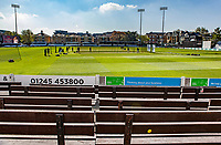 General view from the members side prior to Essex CCC vs Nottinghamshire CCC, Specsavers County Championship Division 1 Cricket at The Cloudfm County Ground on 16th May 2019
