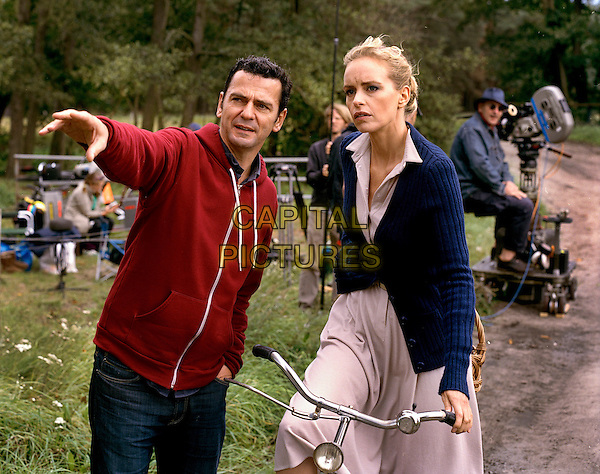 CHRISTIAN PETZOLD (DIRECTOR) & NINA HOSS.on the set of Barbara (2012).*Filmstill - Editorial Use Only*.CAP/FB.Supplied by Capital Pictures.