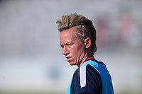 Boyds, MD - Saturday July 09, 2016: Joanna Lohman prior to a regular season National Women's Soccer League (NWSL) match between the Washington Spirit and the Chicago Red Stars at Maureen Hendricks Field, Maryland SoccerPlex.