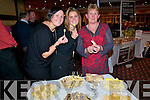 Cheese: Karen, Lesha and Kathkeen Kelliher from Listowel enjoying the cheese tasting at the Listowel Arms Hotel on Friday night.