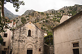 MONTENEGRO, Bay of Kotor, Old Town walls on the hillside above Old Town Kotor, Ben M Thomas