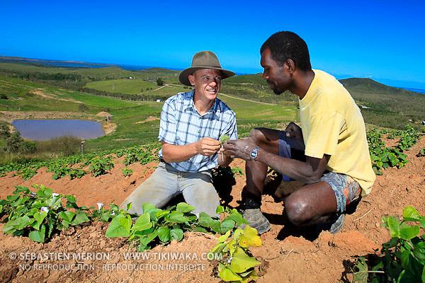 Agriculteur et éleveur Stephen Moglia, région de Moindou