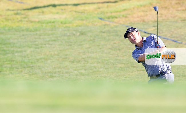 Padraig Harrington (IRL) on the 15th during the 1st round of the 2017 Portugal Masters, Dom Pedro Victoria Golf Course, Vilamoura, Portugal. 21/09/2017<br /> Picture: Fran Caffrey / Golffile<br /> <br /> All photo usage must carry mandatory copyright credit (&copy; Golffile | Fran Caffrey)
