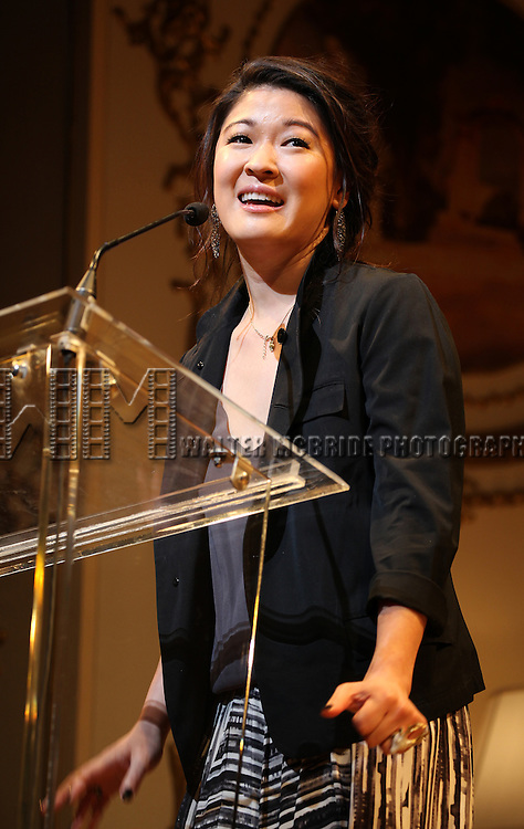 Jennifer Lim.during the 68th Annual Theatre World Awards at the Belasco Theatre  in New York City on June 5, 2012.