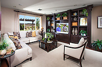 Interior Family Room Stock Photo